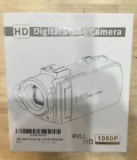 Kicteck Video Camera Camcorder Digital YouTube Vlogging Camera Recorder W/ 2 Bat