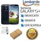 SAMSUNG GALAXY S4 I9505 16GB NERO GRADO B RIGENERATO RICONDIZIONATO USATO