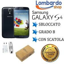 SAMSUNG GALAXY S4 I9505 16 GB BLACK GRADE B REGENERATED RECONDITIONED
