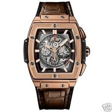 Hublot Spirit Of Big Bang Chronograph 601.ox.0183.lr 18kt Rose Gold Ret: $47,000
