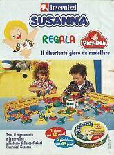 X7366 Invernizzi Susanna regala Play-Doh - Pubblicità 1995 - Vintage advertising