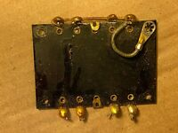Vintage 1940s Western Electric Terminal Board 10 terminals for tube amp