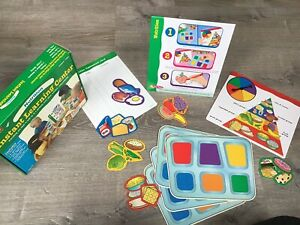 LAKESHORE EDUCATIONAL PRODUCT INSTANT LEARNING CENTER  NUTRITION PRESCHOOL GAME