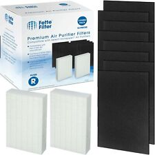Fette Filter - 2 HEPA Replacement Filter Pack Including 8 Activated Carbon Pr...