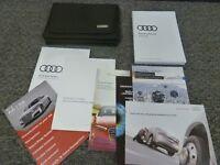 2018 Audi A8 Sedan Owner Manual User Guide Book L 3.0T 4.0T Sport Quattro
