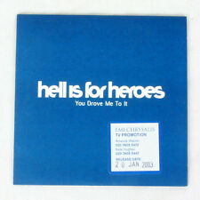 Hell Is For Heroes - You Drove Me To It - music cd ep