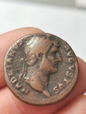 As d'Hadrien ,Rome 128 ( SALUS ,COS III S/C) ! 12,64 g