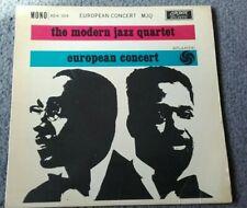 "MODERN JAZZ QUARTET - EUROPEAN CONCERT - 7"" EP Vinyl Record - 45 RPM"
