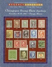 Chicagopex Stamp Show--2011 Auction Catalog--Regency Superior