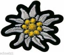 1Aufbügelmotiv♥Patch♥Edelweiss Blüte ♥Aufbügler♥Applikation NEU
