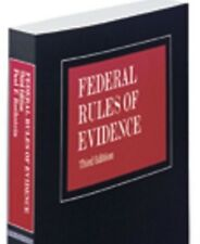 Federal Rules of Evidence 3rd. 2015-2016 Paul F. Rothstein 2 Volume Paperback