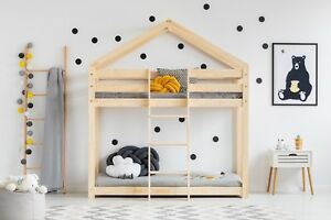 Children bunk bed House Without Mattress 12 dimensions NEW 2019 safe certificat