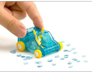 Toy Car Table Dust Cleaning Trolley Keyboard Desktop Dust Cleaner Confetti Penci