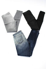 Rag & Bone Womens Skinny Leg Jeans Black Gray Size 28 29 Lot 3