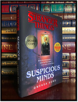 Suspicious Minds ✍SIGNED✍ by GWENDA BOND New Stranger Things 1st Print Hardback
