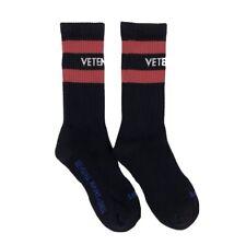 VETEMENTS Socks- Sexual Fantansies-Black