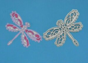 Lace Dragonfly Damselfly Metal Cutting Die, Card Making, **UK SELLER** A5