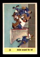 1958 Parkhurst #39 Jacques Plante/ Others IA EXMT X1563378