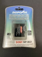 Digipower Rechargeable Battery Replacement For Sony Digital Camera NP-BG1 - NEW