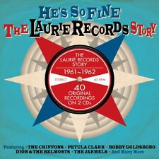 He's So Fine - The Laurie Records Story 1961-1962 2CD NEW/SEALED