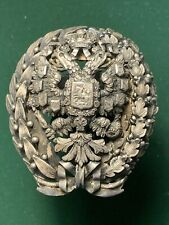 Imperial Russia. Badge graduation Academy of General Stuff. Mikolaevsky Academy.
