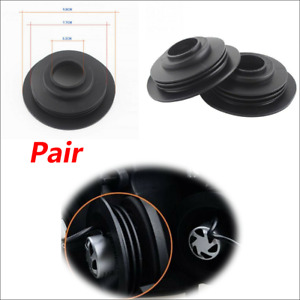 2x Car HID & LED Headlight Dust Cover Rubber Waterproof Dustproof Headlamp Cover