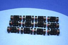 LEGO 12 x Reifen Felge schwarz Black Plate 2x2 with Wheels 122c01assy2