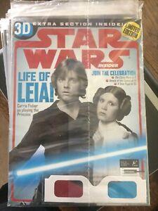 Star Wars Insider #136 Celebration VI 6 Exclusive Cover Sealed 3D Glasses 2012