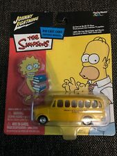 Johnny Lightning The Simpsons Springfield Elementary School Bus 1:64 Diecast '03