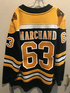 NHL Boston Bruins MARCHAND Fanatics Home Breakaway Jersey  Mens XL New With Tags