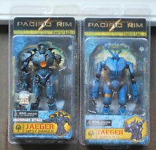 NECA Pacific Rim - Jaeger GIPSY DANGER + ROMEO BLUE Lot x2 Robot Action Figures