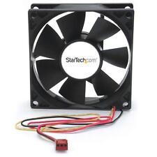 StarTech FANBOX2 80x25mm Dual Ball Bearing Computer Case Fan w/ TX3 Connector