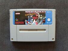 Super Nintendo SNES Game - Ninja Warriors The New Generation