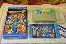 ROCKMAN 7 Super Famicom , Super Nintendo japonaise