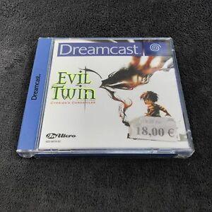 SEGA Dreamcast Evil Twin EUR CD état neuf