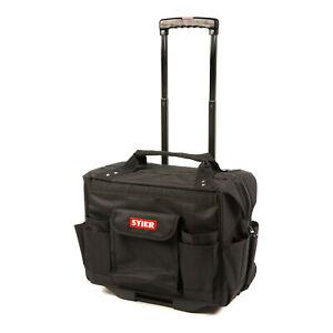 STIER Werkzeugtrolley Premium+ leer und unbestückt schwarzer Werkzeugkoffer