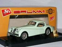 Brumm/Scottoy BS19 1948 Jaguar XK120 Fixed Head Coupe Green Bufab Norge 1/43