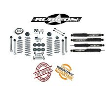 "Rubicon Express 3.5"" Super-Flex Short Arm Kit w/ Twin Tube Shocks 97-06 Jeep TJ"