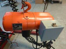 New Listingcm Lodestar Model B14ton 612a Speed 16fp Electric Chain Hoist 10lift 22809
