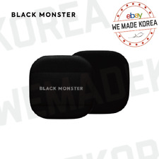 BLACK MONSTER Black Double Cushion Makeup Puff Authentic K-Beauty Cosmetics