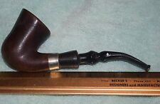 JB-046 - Unmarked Briar Wood Tobacco Smoking Pipe Parts or Repair Only