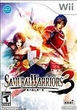 Samurai Warriors 3 for the Nintendo Wii System NEW SEALED