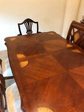 dinning table, chairs and cabinet set