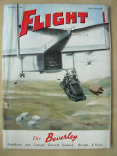 FLIGHT AND AIRCRAFT ENGINEER AUGUST 21st 1953 BLACKURN BEVERLEY