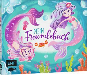 Mein Freundebuch: Meerjungfrau, Poesiealbum, Kinder Kreativ, NEU*