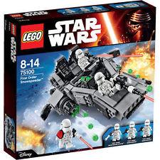 LEGO Star Wars First Order Snowspeeder Ref. 75100 - New Boxed