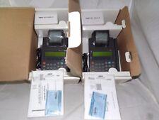 2 New Nurit 2085 Credit Card Payment Terminals NOB