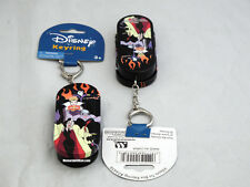 Disney Villians Tin Stash Keeper Keychain Maleficent Cruella Ursula Evil Queen