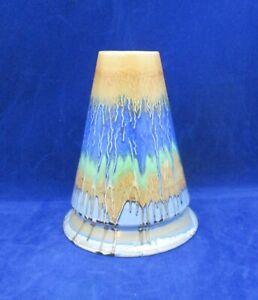Vintage Shelley Harmony Drip Ware Art Deco Vase