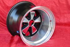 4 cerchi Stk. Porsche 911 Radsatz poliert old school 9x15/11x15 TÜV wheels jante